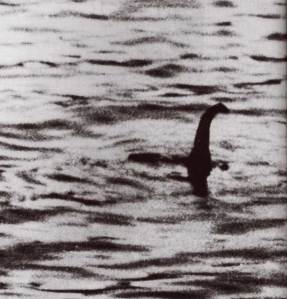 The first ever picture of the Loch Ness Monster?