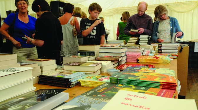 The Borders Book Festival (courtesy of Writers Pictures)
