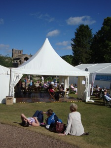 Borders Book Festival 2011, Melrose, Scottish Borders.