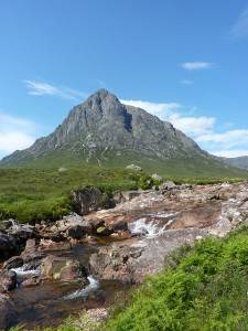 Buachaille Etive Mór and the River Coupall