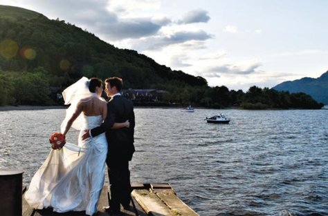 Wedding on Loch Awe